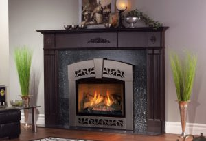 Electric fireplace logs