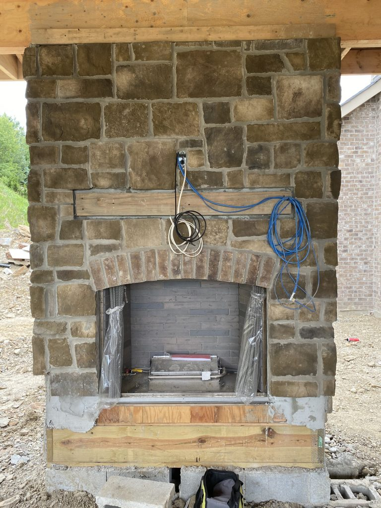 Updating a Fireplace