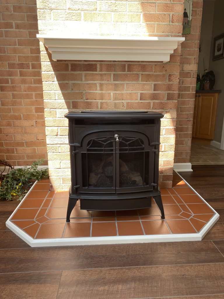 Gas Fireplace Conversion in Pittsburgh